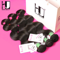 Wholesale Hj Hair - Wholesale-HJ Weave Beauty 8a Mink Brazilian Virgin Hair Body Wave 3Bundles 100% Unprocessed Human Hair Weave Free Shipping