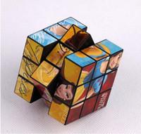 Wholesale Cheap Puzzle Cubes - Factory direct sales 5.5 cm cartoon cube advertising cube PS cheap puzzle toys wholesale