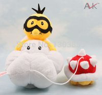 Wholesale Mario Bros Lakitu Plush - Wholesale-Details about LAKITU SPINY! 14inch Super Mario Bros Plush Toy