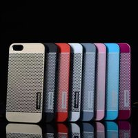 Wholesale Galaxy S4 Polka Dots - Motomo Aluminum Metal Hard Case Cover Polka Dots Pattern for iphone 4  5 6s 6 Plus  For Samsung Galaxy S3 S4 S5 S6