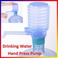 Wholesale Dispenser Plastic For Drink - Wholesale- 1pcs Bottled Drinking Water Easy Hand Press Pump Dispenser for Water Bottle Home decoration My Bottl my bottle for water-j