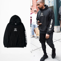 Wholesale Hoodie Hoody Men - Saint Pablo Hoodies Kanye West I feel like pablo TOUR Sweatshirts With Fleece Men Hoody free shipping