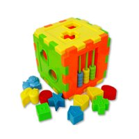 Wholesale blocks shapes toys online - Baby Toys Baby Colorful Block Matching Sorting Educational Toy Geometry Shape Intelligence Baby Toys Multifunction Combination