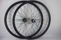 Wholesale Carbon Mtb Wheel Sets - 29er MTB XC AM mountain bike carbon fiber lefty wheelset SUPERMAX 2.0 lefty fork compatible 29inch left hand wheels UD 28 holes XX1 XD X01