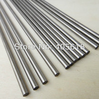 Wholesale Toy Cars Shaft - Wholesale- DIY Toys car axle 5pcs stainless steel bars 5MM DIA length 200mm stick drive rod shaft coupling connecting shaft