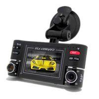 "Wholesale H 264 Dual Lens Car - 2015 HOT Sale 2015 1080P Recorder F30 H.264 Dual Lens Car Dvr Camera Video Recorder 2.7"" TFT LCD Screen Night Vision"