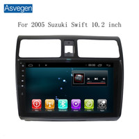 Auto Navigationsgerät Asvegen für Suzuki Swift 2005 10 Zoll mit GPS Touch Screen Unterstützung Auto Audio Radio Video MP3 / MP4 Player Bluetooth