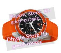 Wholesale Orange Bezel Dive Watch - Top Chronograph Quartz Watches Men's Professional Orange Bezel 007 Watch Men Ocean Date Axial Mens Sport Dive Rubber Strap Stopwatch