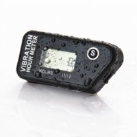 Wholesale Mx Hour Meter - Re-set table Wireless hour meter vibration activated waterproof for atv motorcycle generator mx utv outboard lawn mower