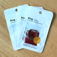 Wholesale Locked Ring Box - Plastic Poly Bags OPP Packing Zipper Lock Package Non Woven Retail Boxes Hand Hole For Phone Ring Bracket