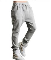 Wholesale Hot sell Men Women Sweat Pants Sports and Leisure couple harem pants Slim new trousers