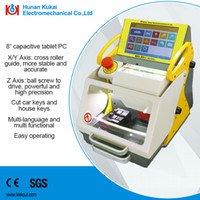 Wholesale Key Duplicating Machine Sales - High Quality Hot Sale Portable Fully Automatic Car Key Cutting Machine Key Duplicating Machine SEC-E9 with CE SGS approved