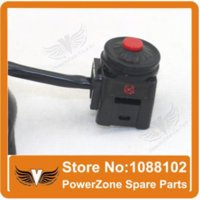 Kill switch stop Uccidi Spegnimento Red Point interruttore Funzione Switch Fit sporcizia di ATV di trasporto del motociclo della bici di motocross del motorino libero