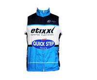 etixx jersey toptan satış-2016 Etixx Hızlı adım rüzgar geçirmez Bisiklet Yelek Bisiklet Jersey Kolsuz Hızlı Kuru Ropa Ciclismo Yaz MTB Bisiklet Bisiklet Giyim