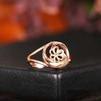 Real Sterling Silver 925 Plated Rose Gold Engagement Casamento Semi Mount Ring Pearl ou Round Bead 9-13mm Women Fine Jewelry