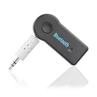 Wireless Bluetooth Car Receiver 3.5mm Plug AUX Streaming A2DP Adattatore Connettore con microfono per Car Home Speaker