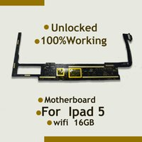 Wholesale Motherboard Air - Wholesale-For Ipad 5 Air Motherboard Mainboard WiFi Version & Original & Unlocked ,Good quality 16GB install IOS System With Full