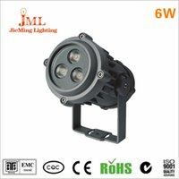 24v 6w licht großhandel-6w LED Flutlicht wasserdichte Außenbeleuchtung IP68 Scheinwerfer DC14V 24V Landschaft Scheinwerfer flutet hohe Leistung