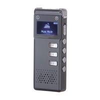Wholesale vor recording - 8GB Digital Audio Voice Recorder Dictaphone VOR voice control recording MP3 Player Built-in speaker support expansion TF card
