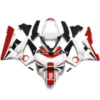 Wholesale Cbr929rr Fairing Kit - Fairings For Honda CBR900RR CBR929RR 00 01 2000 2001 Plastics Injection ABS Motorcycle Fairing Kit Bodywork Motorbike Pramac White Red