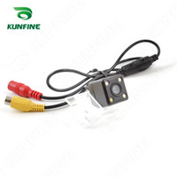 Wholesale Led Light Jeep Compass - CCD Track Car Rear View Camera For Jeep Compass 2011 2012 Parking Assistance Camera Track Line Night Vision LED Light Waterproof KF-V1273L