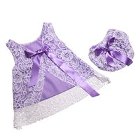 Wholesale Swing Baby Clothes - Rustic Baby Girls Clothing Set ,Lace Swing Top Set ,Summer Newborn Bloomer Set ,Lace Pattern Baby Clothes with bow