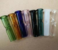 ingrosso oem filtri-Coda di cipresso colorato Phuncky Feel filtro in vetro rotondo punta ODM accettato tabacco secco filtri di erba Lunghezza: 5 cm