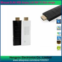 Hot TV Stick Miracast DLNA WIDI airplay Wi-Fi Display Dongle Wireless Compartilhar Push Receiver Adapter Para ios Android telefone inteligente