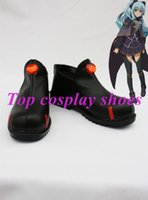 Wholesale Ao Cosplay - Wholesale-Eiyuu Densetsu Ao no Kiseki Tio Plato cosplay Shoes Boots Custom-Made #NC119 Halloween Christmas festival shoes boots