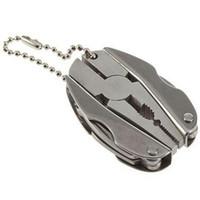 Wholesale Wholesale Pliers Sets - Wholesale Foldaway Keychain Pocket Multi Function Tools Set Mini Pliers Knife Screwdriver High Quality MS613 H210561