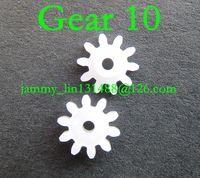 Wholesale vw car gear online - Original new Clarion single CD mechanism gear CD loader drive gear QSS200 gear for Mazda VW car gear teeth car radio