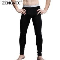Wholesale New Arrival Men s Long Johns Modal and Spandex Thin Thermal Underwear Pants