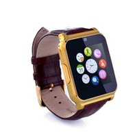 Relojes De Oro Baratos-Gold W90 resistente al agua Smart Watch Phone Mate para Android IOS iPhone HTC Samsung LG