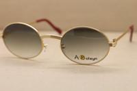 22 metal al por mayor-venta al por mayor 1188008 gafas de sol redondas gafas de sol de los hombres diseñador de la marca de los hombres con el tamaño famoso del marco de las gafas de sol de la marca del logotipo: 55-22-135m m