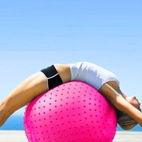Wholesale Yoga Ball Fitness Appliance Exercise point massage Massage Yoga Ball Fitness Body building Tool cm