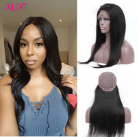 Wholesale 12 13 Wig - Human Hair Lace Front Wig Natural Color Brazilian Remy Hair Lace Human Hair Wigs 13*3 Straight Lace Front Wigs For Black Women
