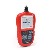 Outil de diagnostic automatique Autel AutoLink AL319 Diagnostic automatique Lecteur de code DIY Outil d'analyse de code OBD2 Au fur et à mesure que Autel AutoLink ML319 Update On
