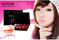 Wholesale Pro Balm - DANNI Lipstick Palette Pro. 15 Color Cosmetic Lip Palette Gloss Lipstick Balm Makeup Lip Stick Rouge Briliant Lip Color With Lip Brush Sets