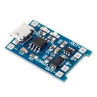 tableros de carga de la batería al por mayor-Profesional 5V Micro USB 1A 18650 Batería de litio Junta de carga 18650 Baterías Cargador Módulo de protección al por mayor