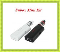 Wholesale Kanger Starter Set - Subox Mini Starter kit Clone 50W 0.3ohm e cigarette Vapor SUBOX Mini Set VS Topbox Mini Kanger subvod kit