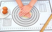 neue kochgeräte großhandel-Neu kommen Silikon Fiberglas Backblech Rolling Teig Gebäck Kuchen Bakeware Liner Pad Mat Ofen Pasta Kochen Werkzeuge Küchenzubehör