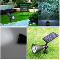 Discount led projection floodlights - Outdoor Solar Lighting Lamps Flood Lights Waterproof Solar LED Landscape Lights Outdoor Spotlight High Brightness Projection Floodlights