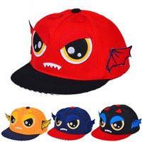 Wholesale Animal Baseball Caps For Kids - Children Cartoon Baseball Hats Caps Snapback Hats Caps for Kids Wing Mens Sun Hats Boys Girls Cute Hats in high quality