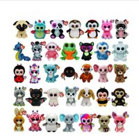 Wholesale Wholesale Big Stuffed Animals - Ty Beanie Boos Big Eyes Small Unicorn Plush Toy Doll Kawaii Stuffed Animals Collection Lovely A wide variety of styles