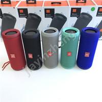 Wholesale Flip Speakers - Wireless Mini Bluetooth Speakers Flip 3 Bluetooth Speakers Deep Outdoor Stereo Speakers Big Sounds Free Shipping DHL