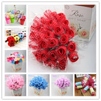 Wholesale Christmas Cake Towel Gift - Gift Towel Rose Dog Lollipop Creative Cake Towel Wedding Holiday Gift Graduation Party Christmas Valentine's Day Present Gift