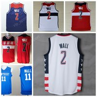 Wholesale High John Wall Jersey Men Throwback Kentucky Wildcats College John Wall Basketball Jerseys Vintage Stitched Navy Blue Red White