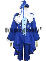 Black Butler Cosplay Ciel Phantomhive Birthday dress Косплей Костюм Костюм Аниме