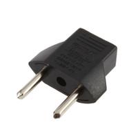 dijital pin toptan satış-AB Tak Adaptörü 2 Pin AB 2 Yuvarlak Pin Fiş Soket Eletronic Dijital Avrupa fiş adaptörü