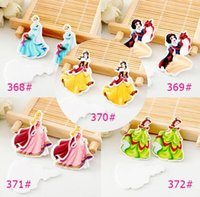 Wholesale Wholesale Make P - New 50 pcs Cartoon Princess Planar Resin Flatback Craft Accessories Decor, Embellishment DIY Making P-5